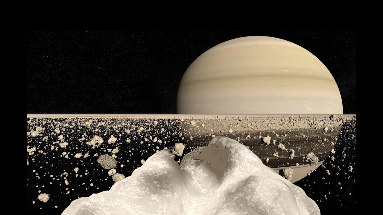 Standing on Saturn's Rings - YouTube