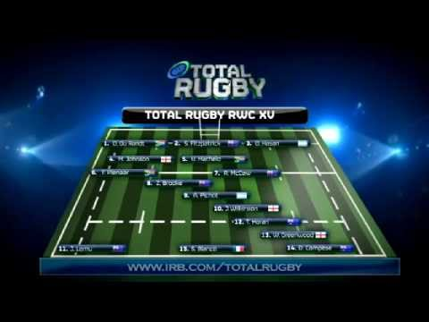 Total Rugby - RWC XV Dream Team - YouTube