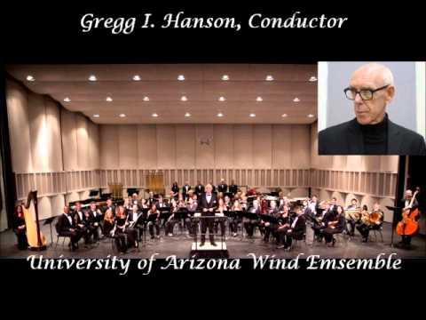 Maslanka Symphony #7 performed by U. of A. Wind Ensemble, Gregg I. Hanson, conductor