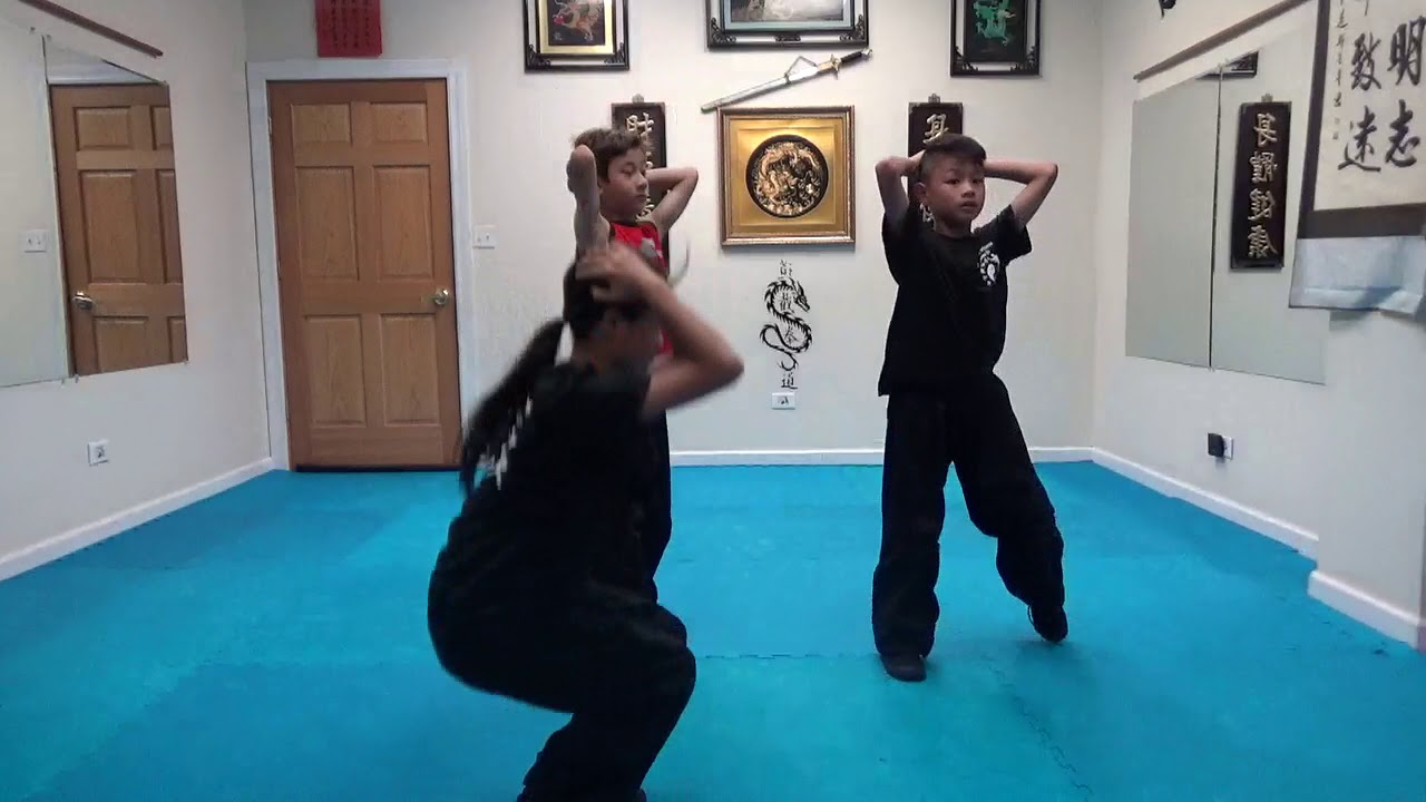 Kung Fu Kids - Sit Up and Stand Challenge