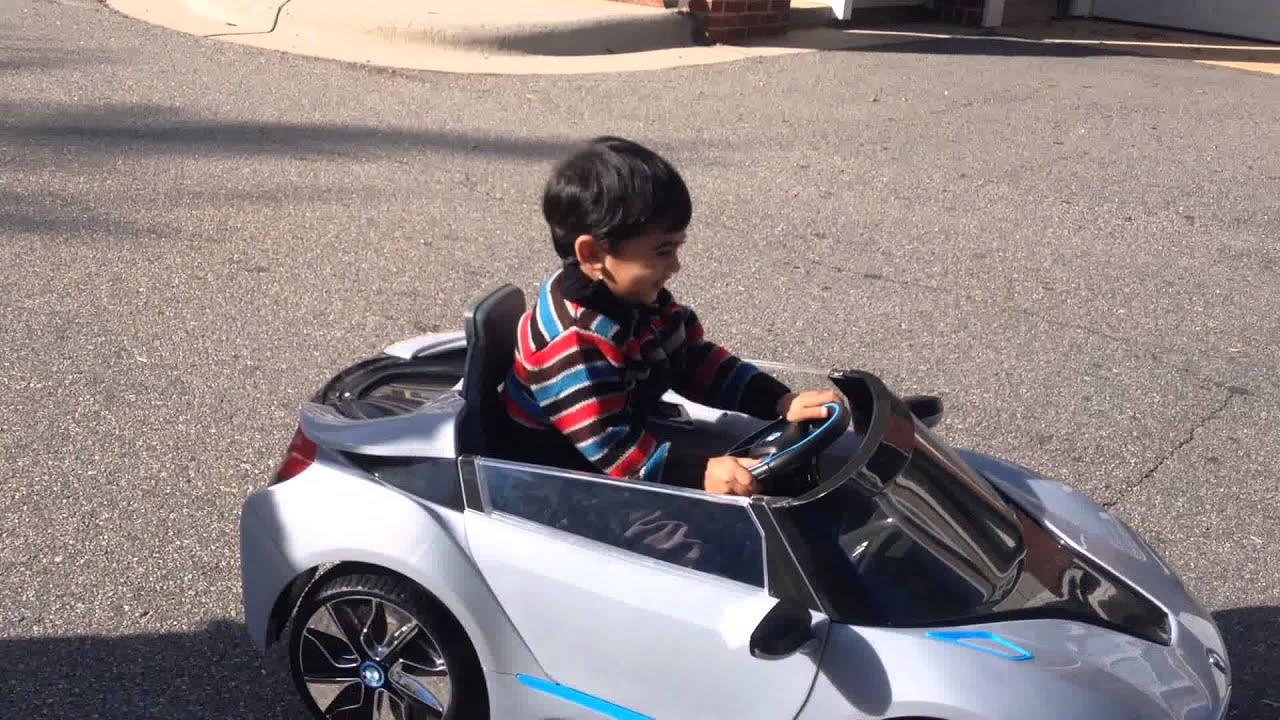 Aarav Driving In His Car BMW I8 Spyder
