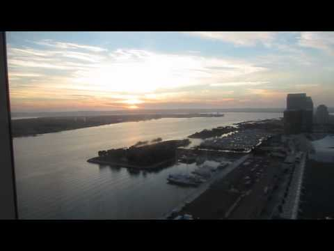 Hilton Bayfront  Hotel San Diego Downtown Review And Tour