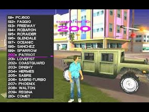 Gta Vice City Hidden Cars Cheats