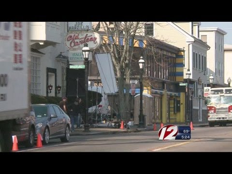 Federal Hill movie shoot