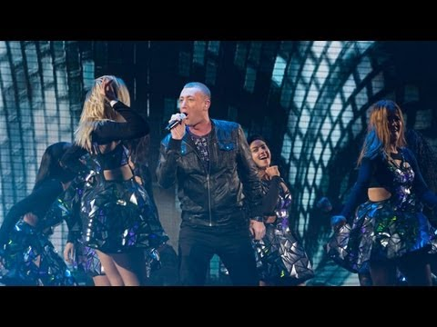 Christopher Maloney Sings Dancing On The Ceiling - Live Week 8 - The X Factor UK 2012