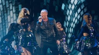 Christopher Maloney sings Dancing on the Ceiling Live Week 8 The X Factor UK 2012