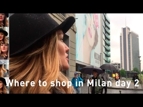 Shopping in Milan 2017 - where to shop in Milan -  Brera District