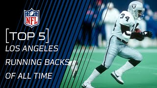 Top 5 Los Angeles Running Backs of All Time | #ThrowbackThursday | NFL