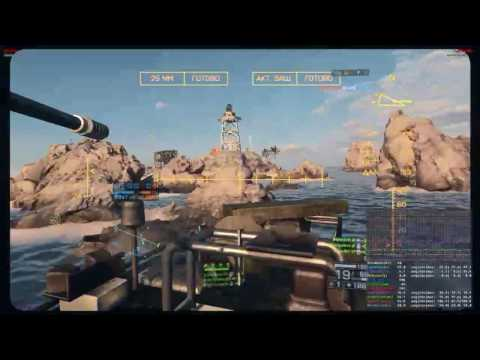 Battlefield 4 | Wavebreaker | Boat gameplay | 228:2 | Full Round (10.07.2016)