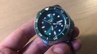 I Got The New 5 Sports Seiko - The SKX Replacement