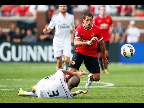2014/08/02 Manchester United vs Real Madrid 3:1 - Gol Chicharito14.mx