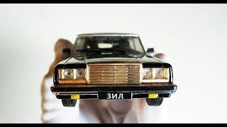 Про машинки. ЗИЛ 41045 бронированный лимузин обзор модельки масштаб 1:43