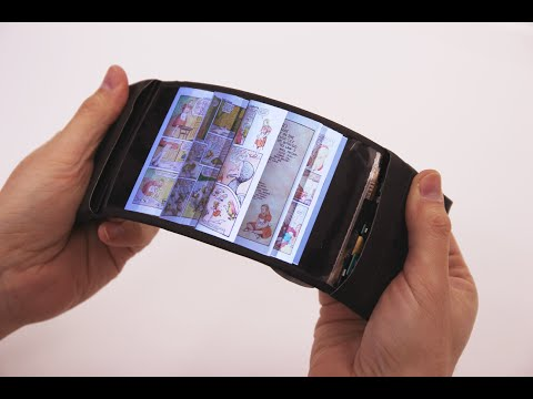 ReFlex: Revolutionary flexible smartphone allows users to feel the buzz by bending their apps.