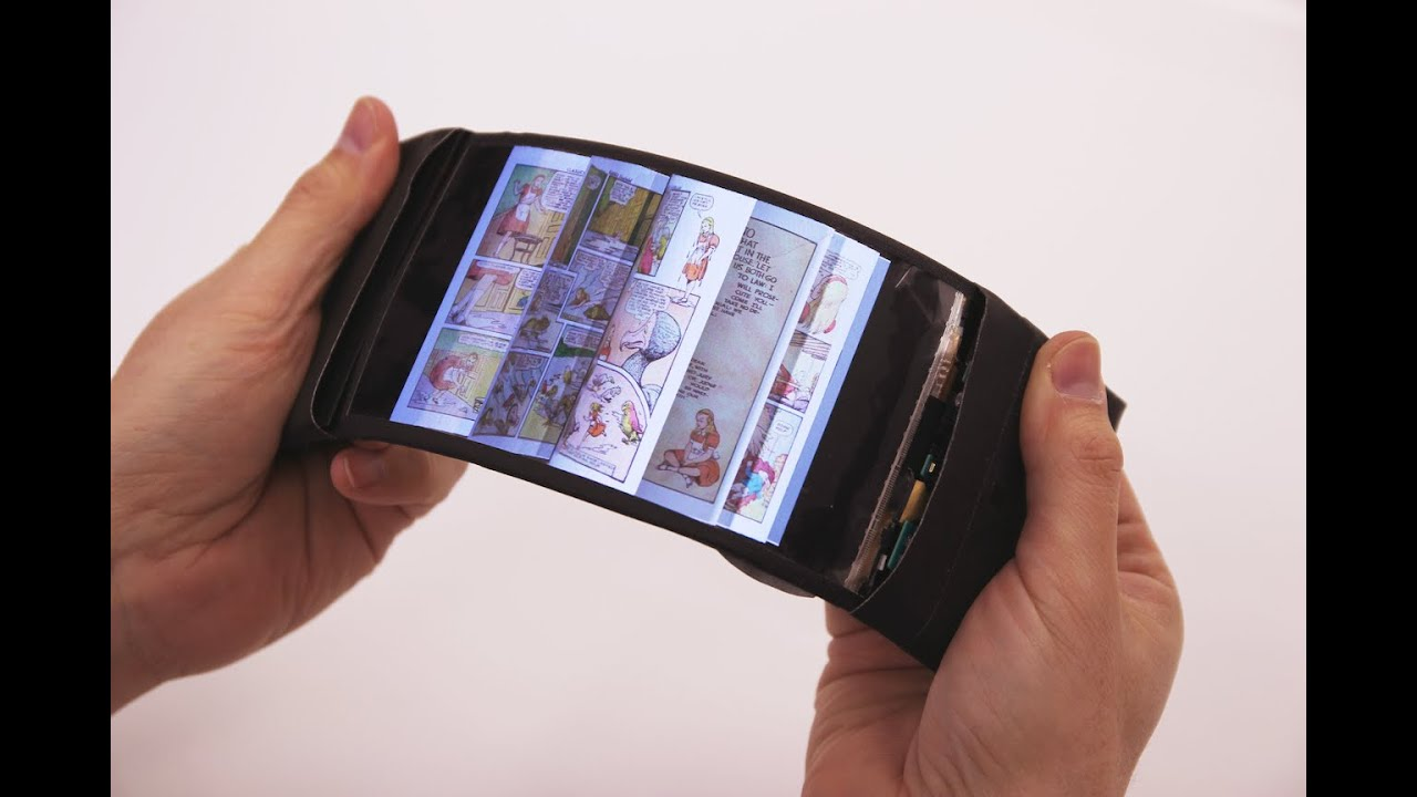 This flexible smartphone display might be the future of