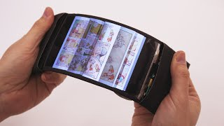 ReFlex: Revolutionary flexible smartphone allows users to feel the buzz by bending their apps. thumbnail
