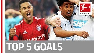Top 5 Goals on Matchday 10 - Gnabry, Nelson, Bellarabi & More