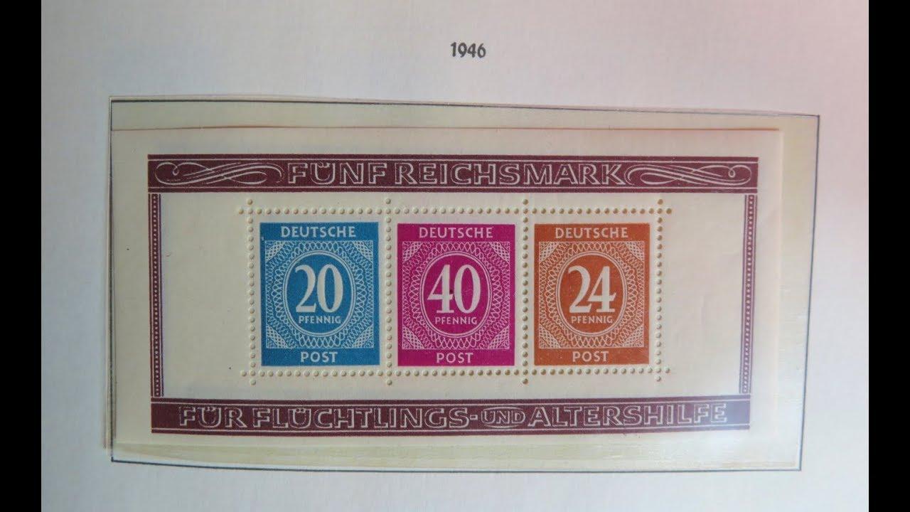 Briefmarken Wertvoll Der Ungefähre Wert Der Briefmarken Alliierte