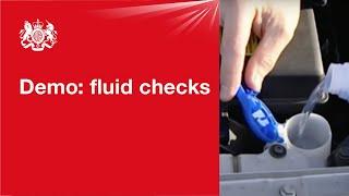 Fluid checks