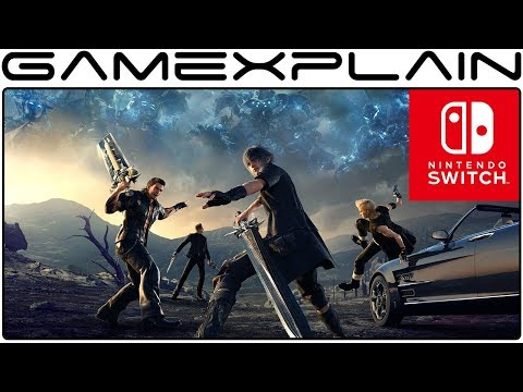 Square Enix Teases Nintendo Switch Final Fantasy XV Port