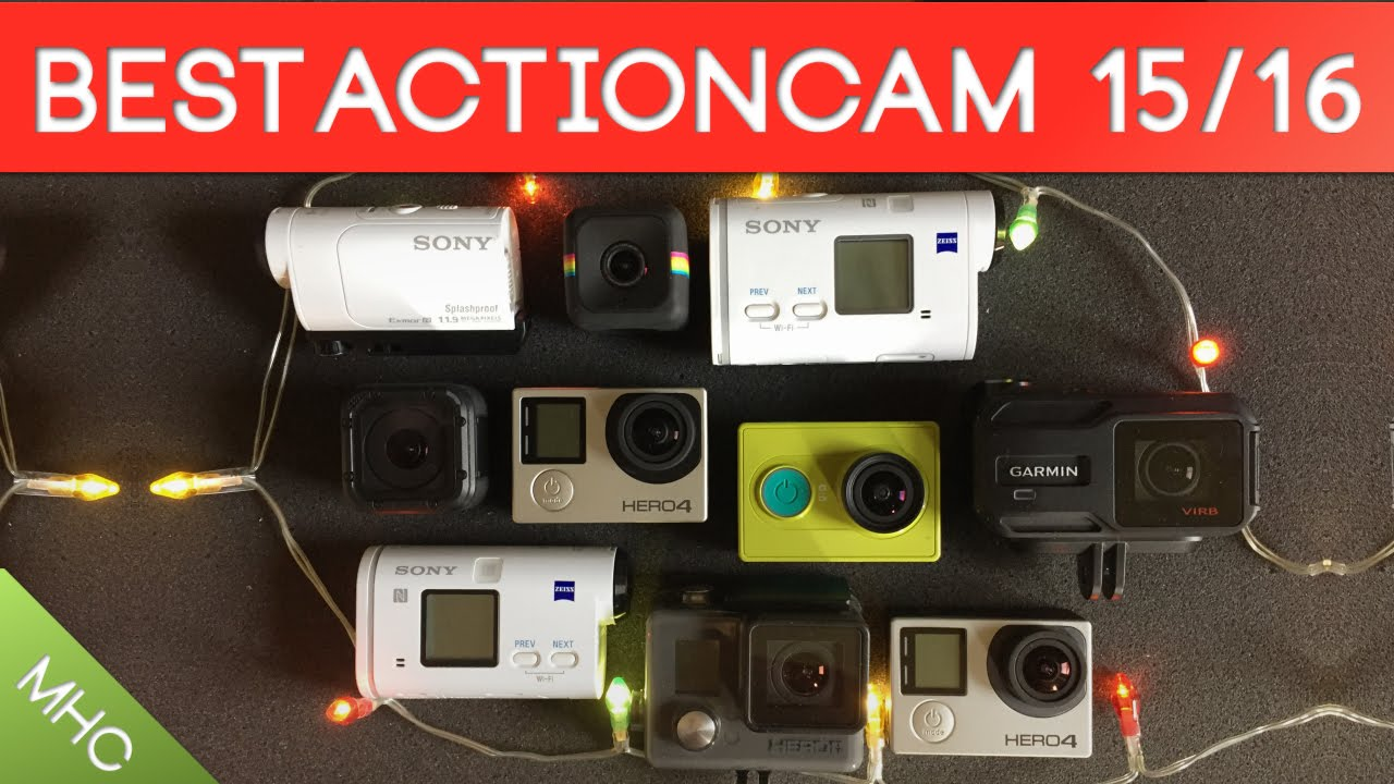 Best Action Cameras of 2015/2016 - YouTube