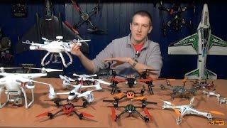 Смотреть видео Купить квадрокоптер или дрон на радиоуправление