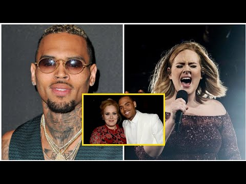 Adele Podria Tener Un Romance Con Chris Brown En Secreto Youtube