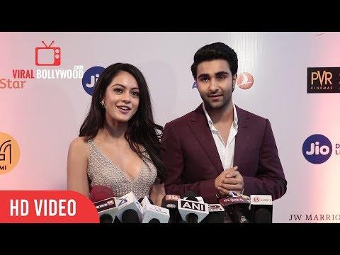 Aadar Jain And Anya Singh At Jio Mami Film Festival 2017 Opening Ceremony   Viralbollywood
