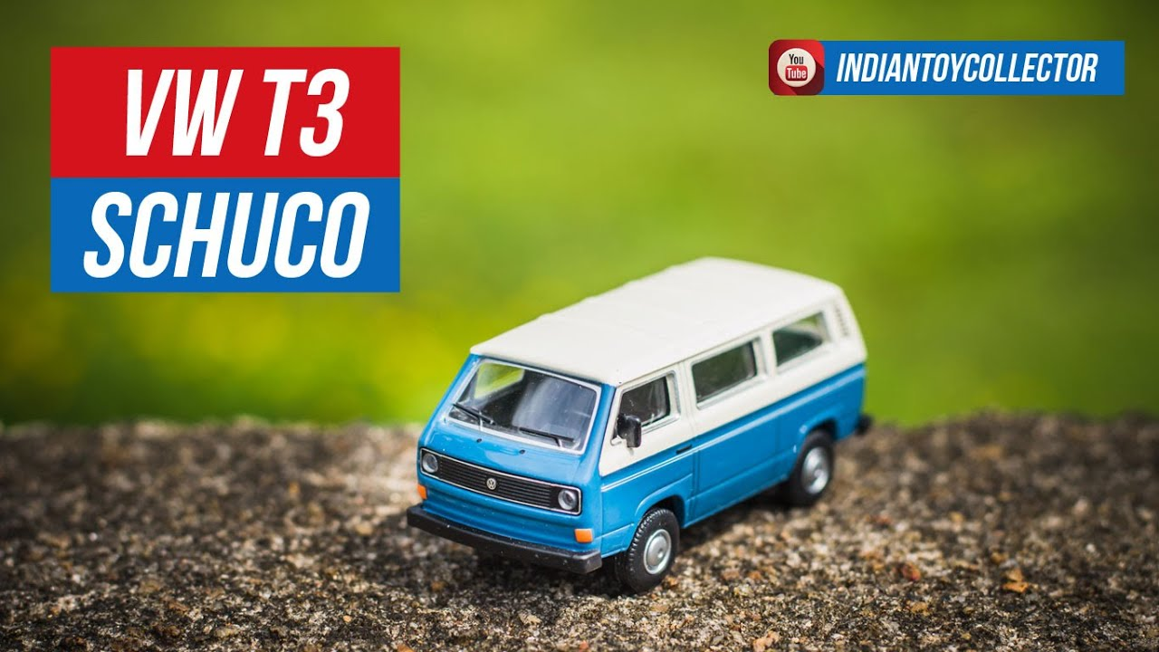 Schuco VW T3 1:64 - with Realistic Look