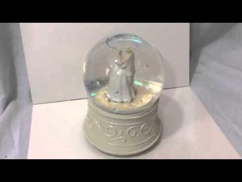 Bridal Snow Globe