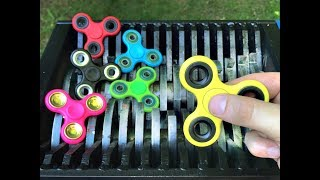 FIDGET SPINNER SHREDDING! MUST WATCH!