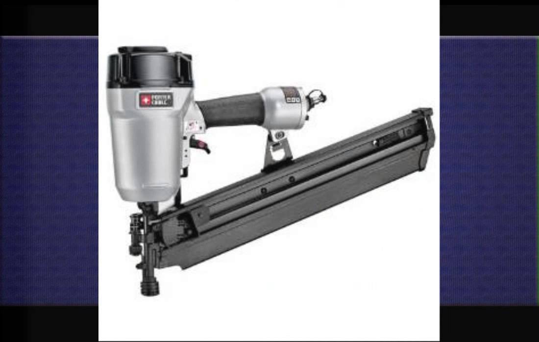 Porter Cable Round Head Framing Nailer - YouTube