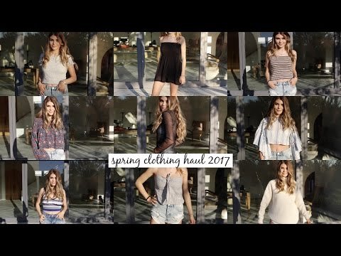 TRY-ON SPRING CLOTHING HAUL 2017 l Olivia Jade