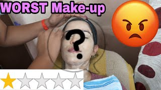 I WENT TO THE WORST REVIEWED MAKEUP ARTIST IN JAIPUR INDIA | Super Style Tips