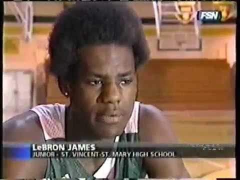 Lebron James - the 16 year old kid