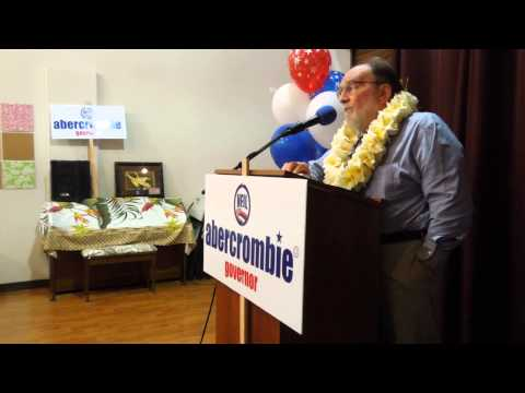 Hawaii Governor Neil Abercrombie Thanks AFG Volunteers