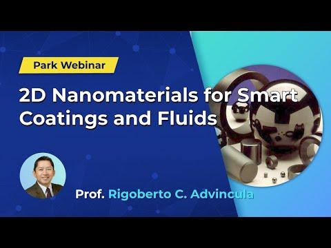 Nanomaterials  Webinar: 2D Nanomaterials for Smart Coatings and Fluids