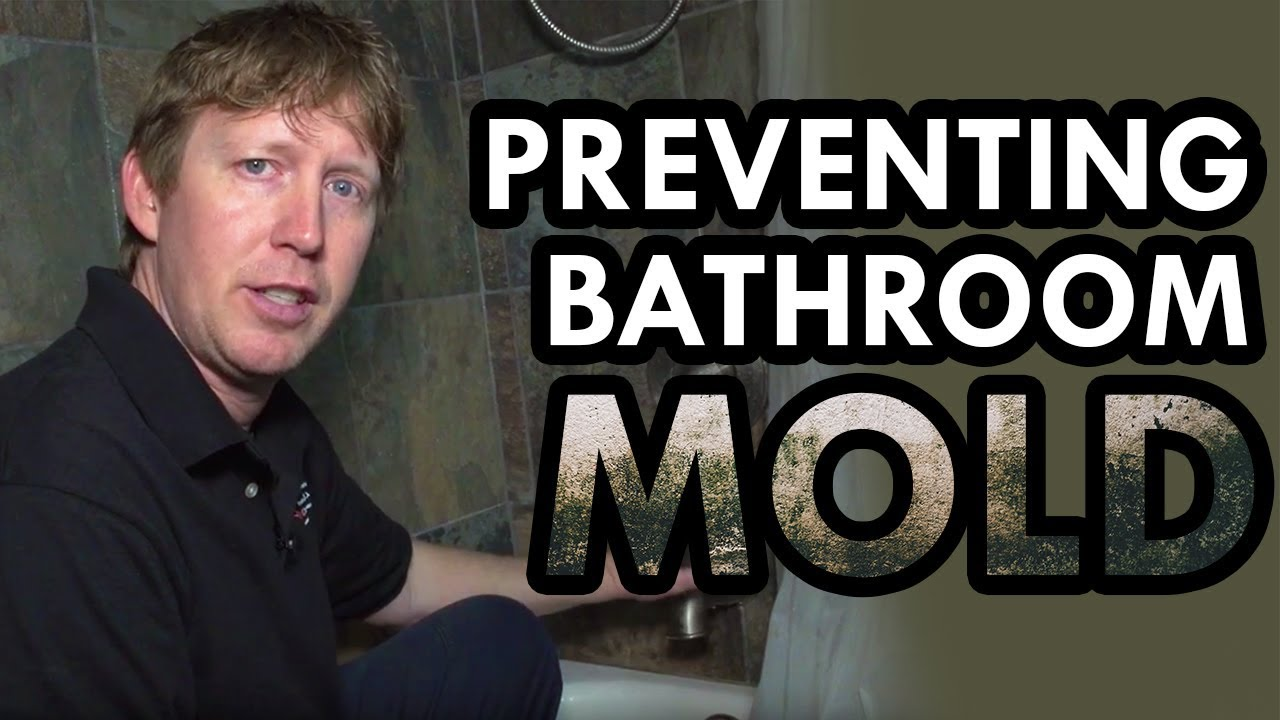 How To Prevent Mold In Bathroom mold in bathroom - how to prevent mold in shower - youtube
