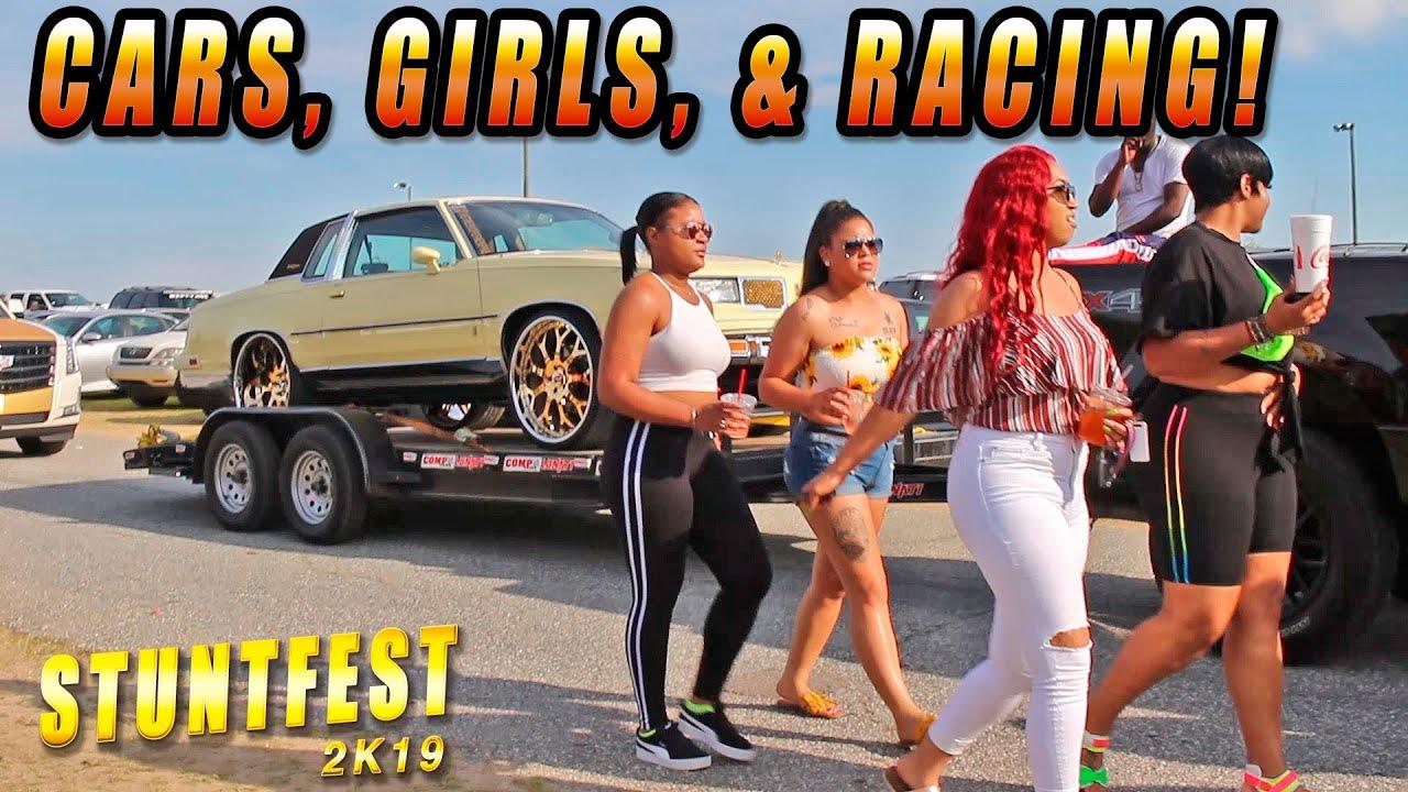 STUNTFEST 2K19 TRACK ACTION ! Donkmaster, 2fly , SavijLife , BeengettingCash - Donk Racing 2019