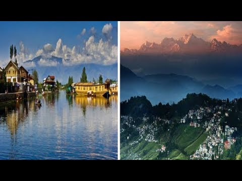 Top 10 Popular Hill Stations In India !