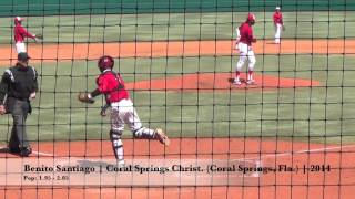 Benito Santiago (03-26-27-2014) USA Baseball NHSI (Cary, N.C.) Catch and Throw
