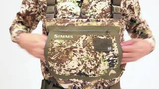 G3 Guide Waders in SIMMS River Camo