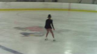 Isabel's Ice Skating Tribute to Michael Jackson - June 27 2009