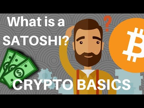 Cryptocurrency For Beginners: What Is A SATOSHI?