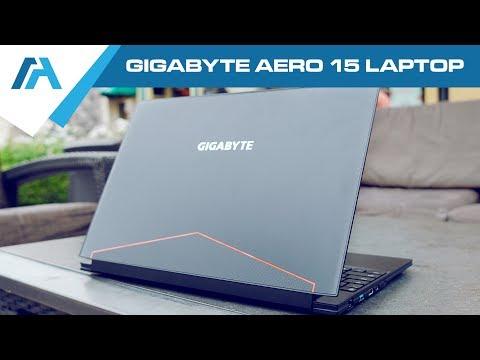 GIGABYTE AERO 15 Laptop Review - Bezel-less Ultrabook