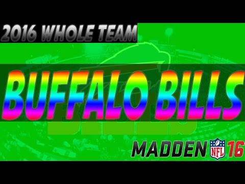 Madden 17 Buffalo Bills Ratings