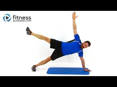 28 Minute Snowboard Workout - Fitness Blender Conditioning Workout Routine
