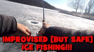 The HOLE MASTER Strikes Again! (ICE FISHING IMPROV) ft. First State Fishing & Symplex Fishing
