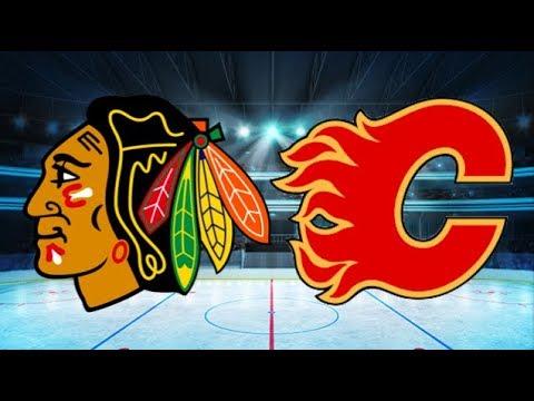 Chicago Blackhawks Vs Calgary Flames 3 4 Dec 31 2017