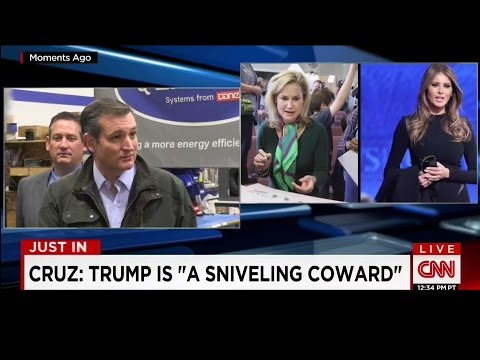 "Ted Cruz: Donald Trump is ""A Sniveling Coward"""
