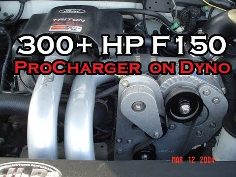 ford f150 4 6l ati procharger on dyno 360 hp youtube. Black Bedroom Furniture Sets. Home Design Ideas